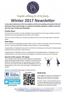 newsletter jan 2017